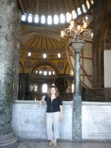 Balcony of the Haggia Sophia